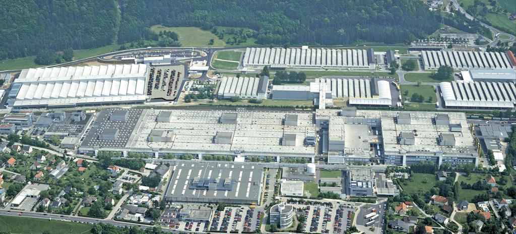 Luftaufnahme Bmw Werk Steyr