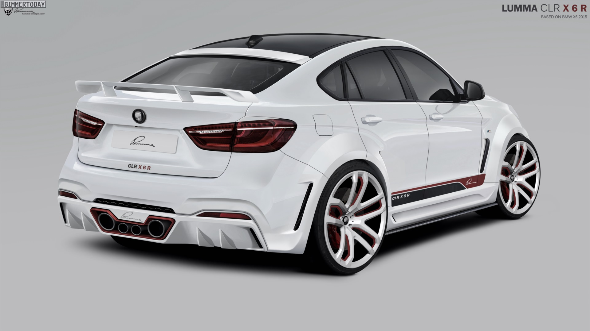 Lumma Clr X 6 R Bmw X6 F16 Mit Virtuellem Widebody Tuning