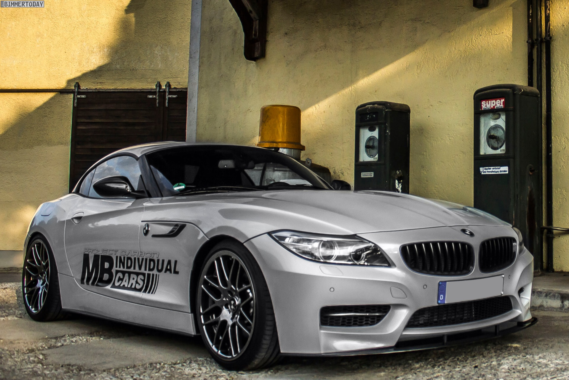 Mb Individual Cars Carbon Tuning F 252 R Den Bmw Z4 Sdrive35is E89 Lci