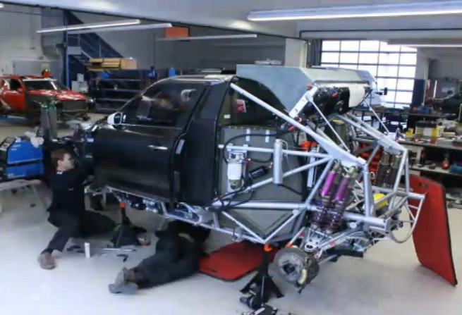 MINI-ALL4-Racing-X-Raid-Countryman-Video-Aufbau