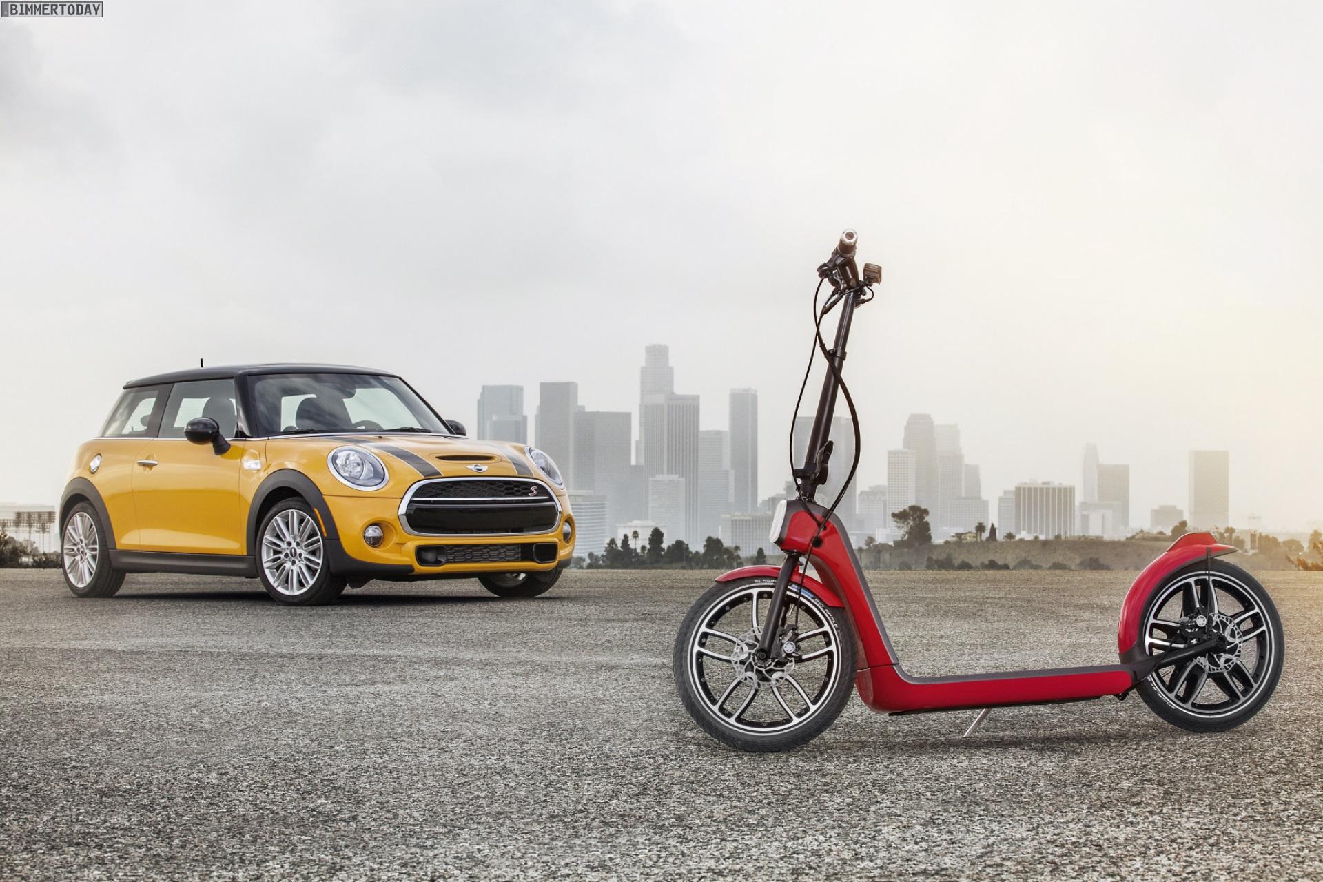 Mini Citysurfer Concept Elektro Scooter Im Kofferraum Format