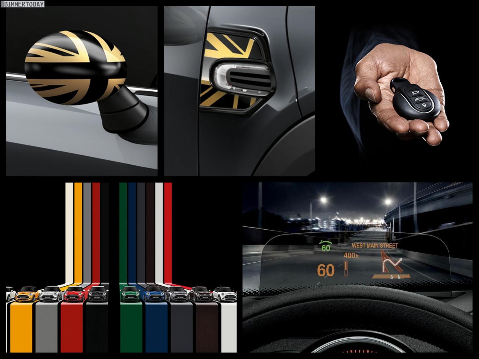 mini f56 neue detail fotos zeigen zubeh r schl ssel und. Black Bedroom Furniture Sets. Home Design Ideas