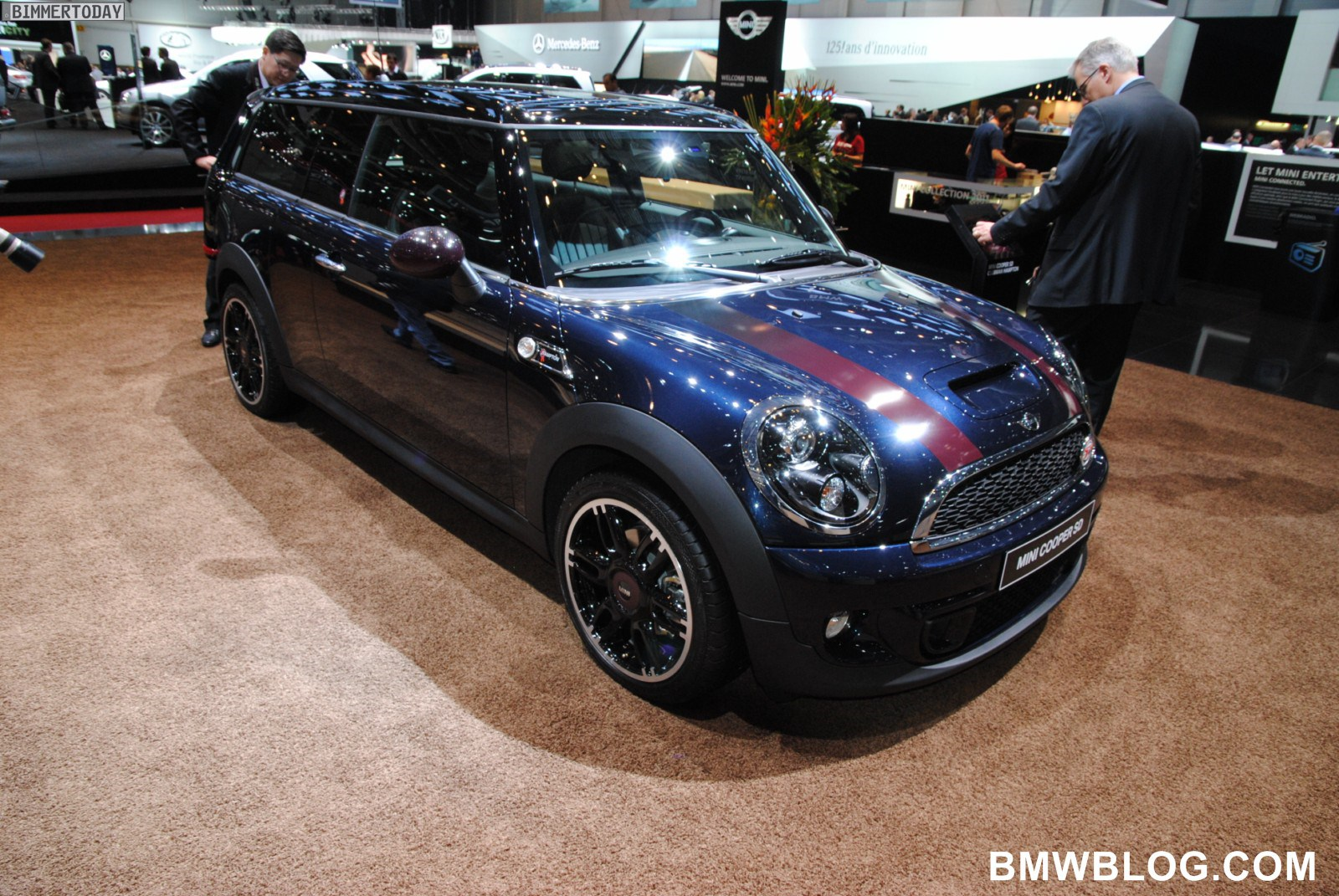 genf 2011 der mini cooper sd clubman 50 hampton im detail. Black Bedroom Furniture Sets. Home Design Ideas