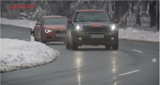 MINI-Paceman-JCW-vs-BMW-M135i-F21-autocar