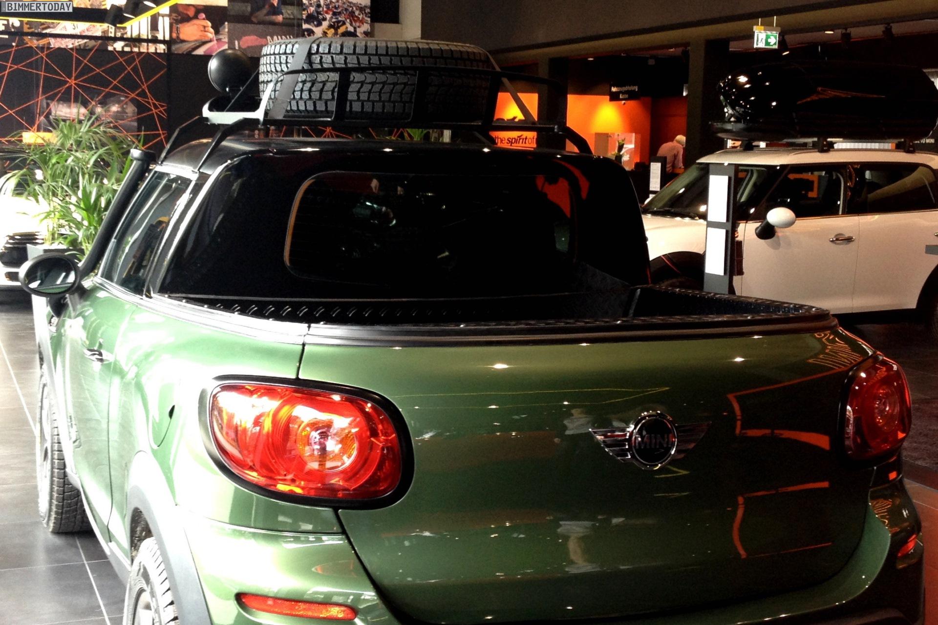 Mini Paceman Pickup Azubi Projekt Realisiert Neue Karosserievariante
