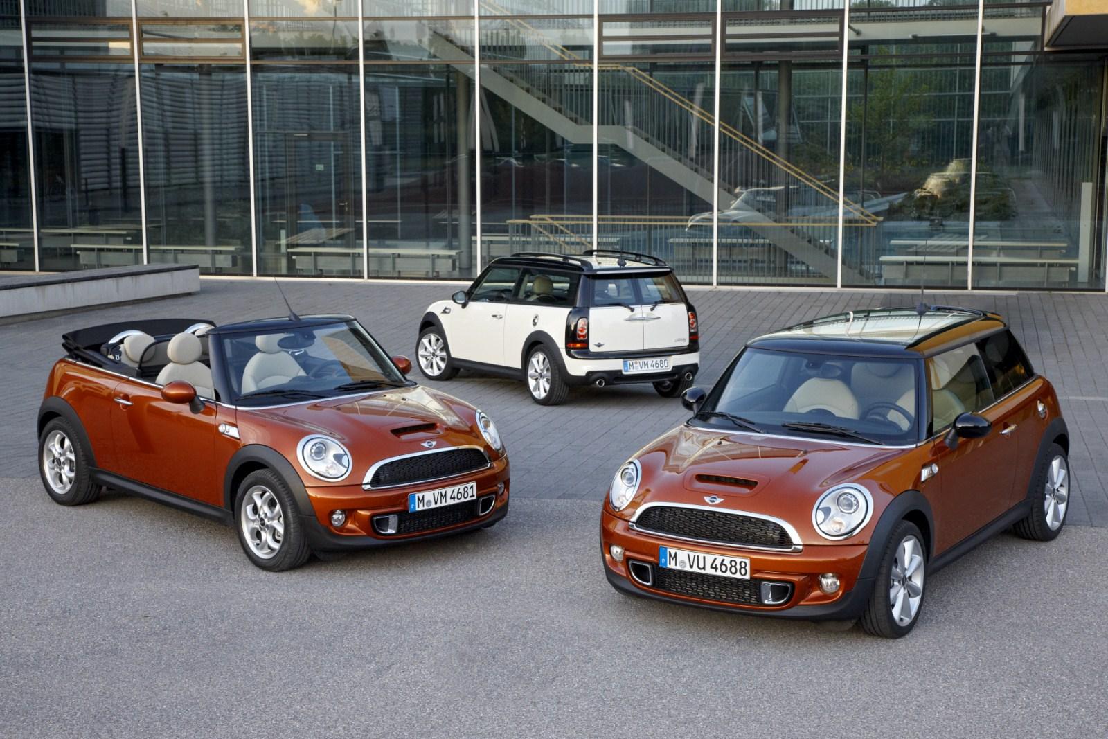 Offizielle Bilder Infos Zum Facelift Für Die Mini Familie R55