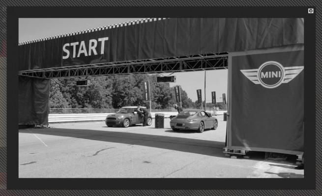 MINI-vs-Porsche-start