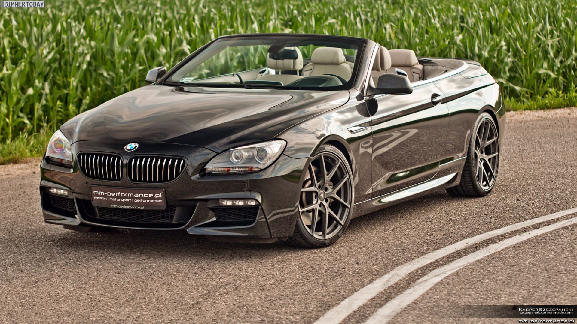 mm performance bmw 6er cabrio f12 mit dezentem tuning. Black Bedroom Furniture Sets. Home Design Ideas