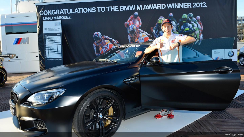 Motogp Weltmeister Marc Marquez Holt Auch Bmw M6 F13 Als M Award