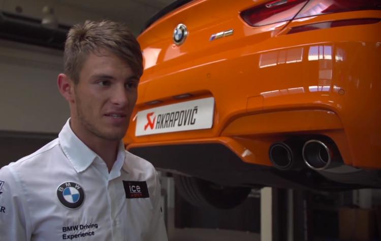 Marco-Wittmann-BMW-M6-Akrapovic-Abgasanlage