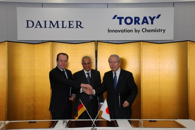 Mercedes-Benz-Partnerschaft-Toray-Carbon
