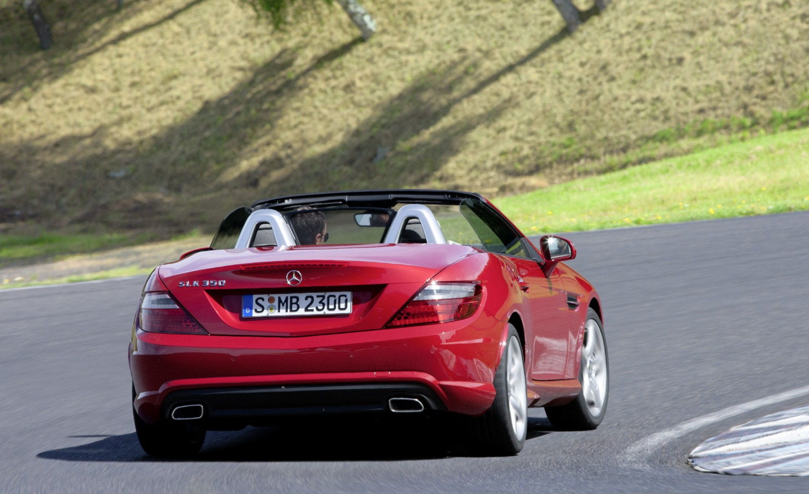 Offizielle Bilder Amp Infos Zum Neuen Mercedes Slk Roadster