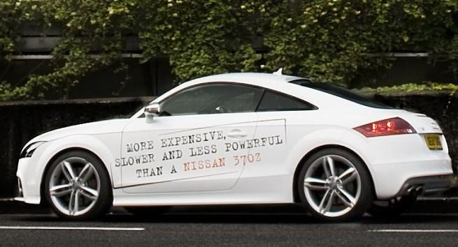 Nissan-Werbung-370Z-vs-Porsche-Audi-BMW-01