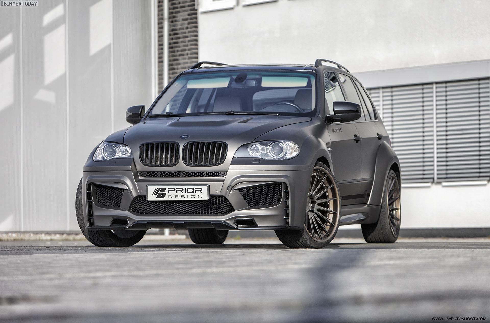 Prior Design: Tuning-Bodykit macht BMW X5 E70 zum Breitbau-SUV