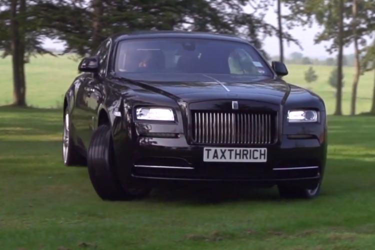 Rolls-Royce-Wraith-Drift-Video-Garden-of-Wraith-Luxus-Garten-2