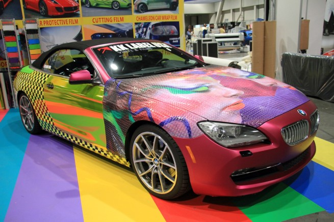 SEMA-2013-KK-Label-BMW-6er-Cabrio-Tuning