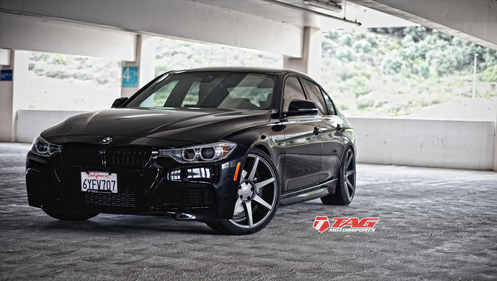 us tuning tag motorsports bmw 3er f30 auf 20 zoll vossen. Black Bedroom Furniture Sets. Home Design Ideas