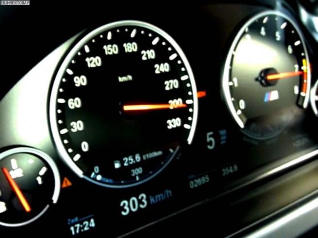 Tacho-Video-BMW-M6-Gran-Coupé-300-kmh