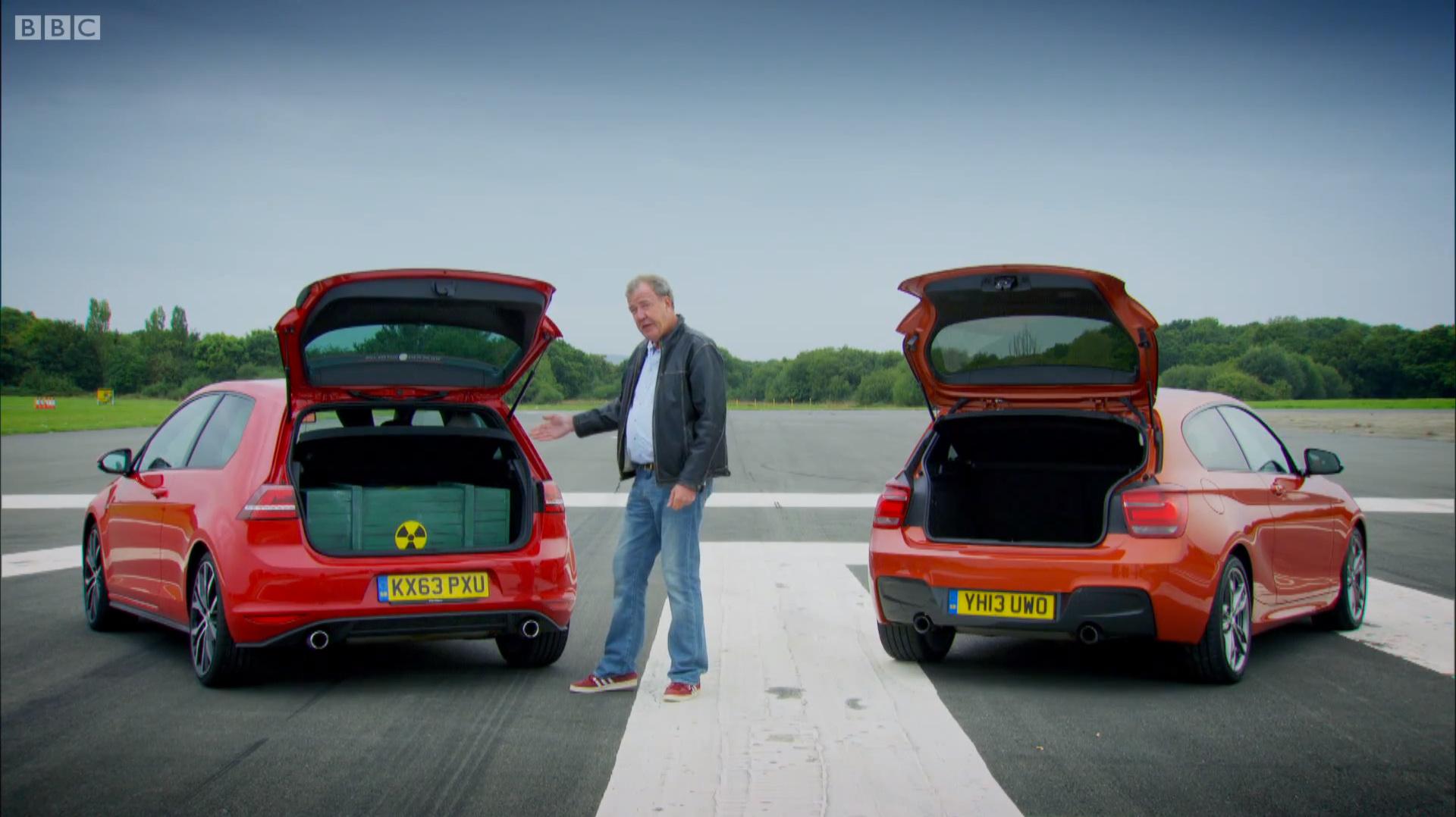 Top Gear Bmw M135i Vs Vw Golf Gti Mit Jeremy Clarkson