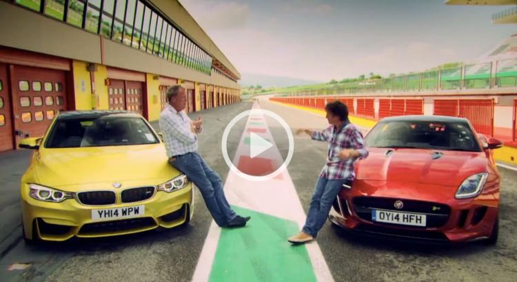 Top-Gear-BMW-M4-F82-vs-Jaguar-F-Type-Coupe-Video