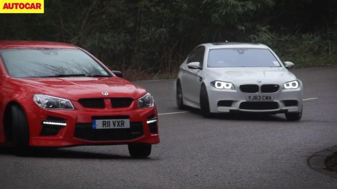 Vauxhall-VXR8-vs-BMW-M5-Competition-Package-F10-LCI-Video-Vergleich