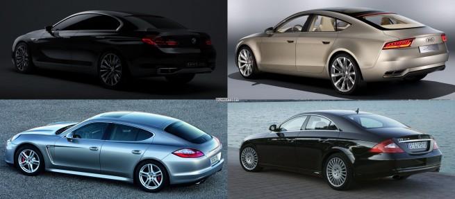 Vergleich-BMW-Gran-Coupe-Audi-Sportback-Porsche-Panamera-Mercedes-CLS-4-5