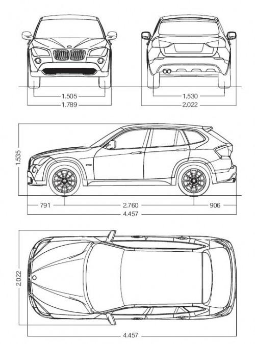 Offizielle Bilder Vom Bmw X1 Concept Car