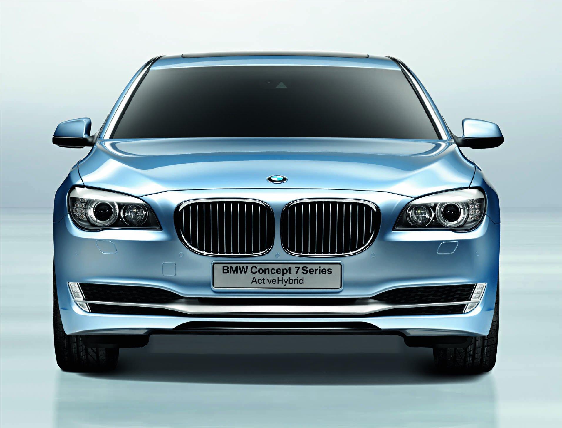 BMW 7er F01: Verschiedene Nieren je nach Ausstattung
