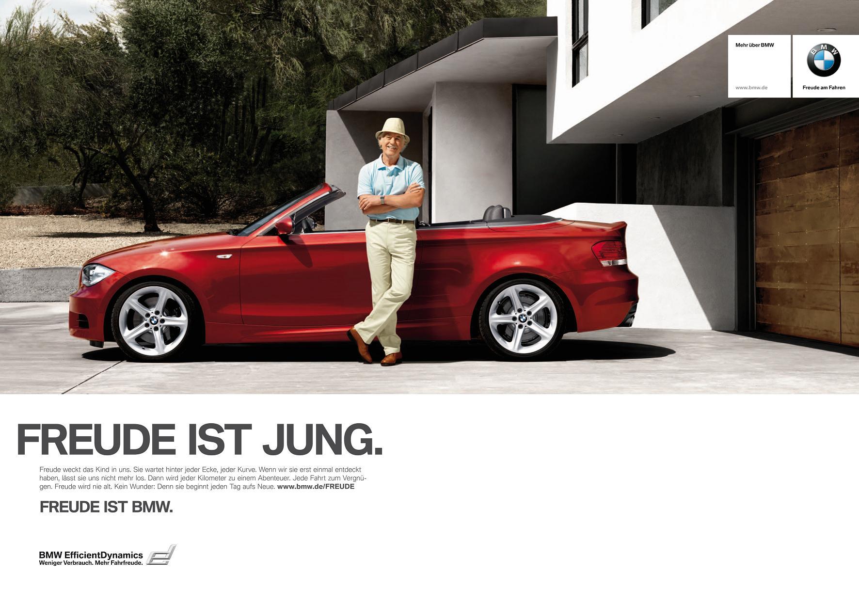 Neue Werbekampagne Gesucht Quot Freude Ist Bmw Quot Hat Ausgedient